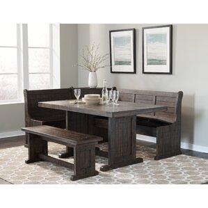 kitchen nook corner bench | wayfair