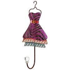 Metal Dress Design Wall Hook by River Cottage Gardens