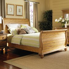 Harlowton Sleigh Bed by Loon Peak