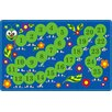 Flagship Carpets Counting Caterpillar Kids Rug