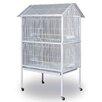 Prevue Hendryx Pointed Top Floor Bird Aviary