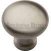 Heritage Brass Mushroom Knob