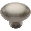 Heritage Brass Oval Knob