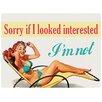 Red Hot Lemon Sorry if... Vintage Advertisement