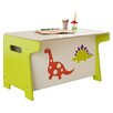Millhouse Dinosaur Toy Box and Desk