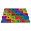 Kid Carpet Row by Row Alphabet Kids Rug