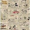 Disney Mickey and Minnie's Night Out 10m L x 52cm W Figural Roll Wallpaper