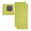 MU Kitchen Dishcloth with Scrubber and Dishtowel (Set of 2)