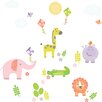 Brewster Home Fashions WallPops Sunny Day Safari Applique Wall Decal Kit