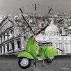 Contento My Clock Analogue Wall Clock