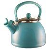Reston Lloyd Calypso Basic 2.2 Qt. Whistling Stove Tea Kettle