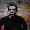 Parvez Taj James Dean Torn Sweater Graphic Art Wrapped on Canvas