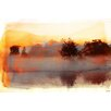 Parvez Taj 'Pine Ridge' by Parvez Taj Framed Graphic Art Print on Wrapped Canvas