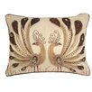 House Additions Peacock Lumbar Cushion