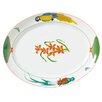 Lynn Chase Designs Rainforest Oval Platter