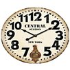 Premier Housewares Central Station Wall Clock