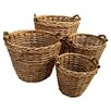 ChâteauChic 4 Piece Gift and Accessory Willow Basket Set