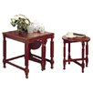 Home & Haus Breer 3 Piece Nest of Tables