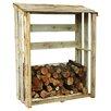 Zest 4 Leisure 1,2 m x 0,6 m Holzscheitregal aus Holz