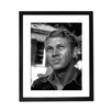 Culture Decor Steve McQueen Portrait Framed Photographic Print