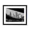 Culture Decor Manhattan Brooklyn `Bridge Framed Photographic Print