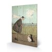 Art Group Singing Lessons by Sam Toft Art Print Plaque