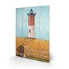 Art Group Feeling the Love at Nauset Light by Sam Toft Art Print Plaque