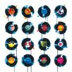 Art Group 45RPM by James Paterson Canvas Wall Art
