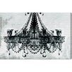 Oliver Gal Dramatic Entrance Graphic Art Wrapped on Canvas
