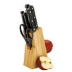 Zodiac Stainless Products 7-Piece Apple Knife Block Set