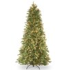 Tiffany Fir 6.5' Green Artificial Christmas Tree with 500 Clear Lights and Stand