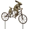 SPI Home Tandem Bicycle Bunnies Garden Statue