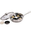 Zodiac Stainless Products 4 Hole Egg Poacher