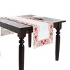Saro Francine Embroidered and Cutwork Table Runner