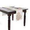 Saro Adela Design Appliqué Table Runner