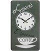 Roger Lascelles Clocks Lymans Coffee Wall Clock