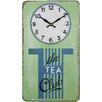 Roger Lascelles Clocks The Tea Club Wall Clock