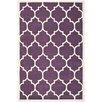 Safavieh Levy Hand-Tufted Purple/Ivory Area Rug