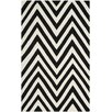 Safavieh Taroudant Hand-Woven Black/Ivory Area Rug