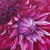 "Art Group Leinwandbild ""Fabulous Pink Dahlias"" von Sarah Caswell, Wandbild"