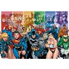 "Art Group Justice League America ""Generations"" Poster Canvas Wall Art"