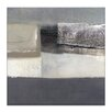 Artist Lane Movement of Mass by Katherine Boland Graphic Art Wrapped on Canvas in Grey/Black