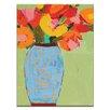 Artist Lane Blue Jar by Anna Blatman Art Print Wrapped on Canvas