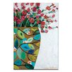 Artist Lane Garden Pot by Anna Blatman Art Print Wrapped on Canvas