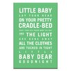 Artist Lane Goodnight by Nursery Canvas Art in Lime