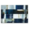 Artist Lane Two Fold Bay by Katherine Boland Art Print Wrapped on Canvas in Blue/White