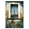 Artist Lane Doors of Italy - Finestra Solido by Joe Vittorio Photographic Print Wrapped on Canvas