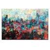Artist Lane Skyline I by Jennifer Webb Art Print Wrapped on Canvas