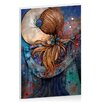 Artist Lane Dance with the Moon by Karin Taylor Art Print Wrapped on Canvas