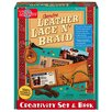 T.S.Shure Genuine Leather Lace 'N Braid Creativity Set and Book